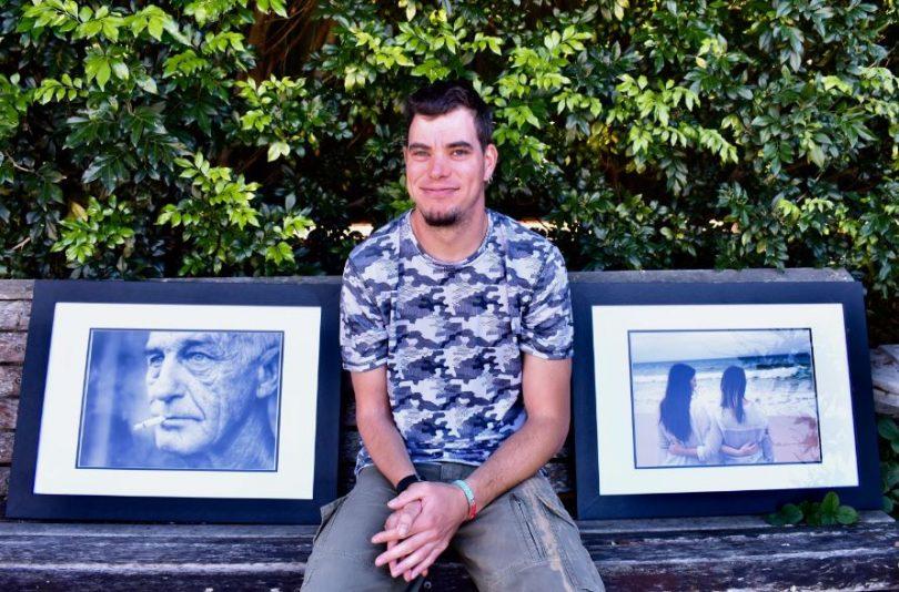 Moruya photographer Peter Vassallo. Photo: Eurobodalla Shire Council