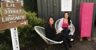 Two Canberra women uncover a treasure trove of 46 little libraries down city laneways and suburban streets