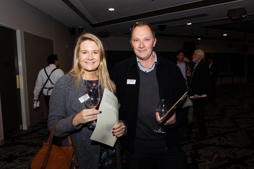 Alison Beer and David Barker (Visit Canberra)