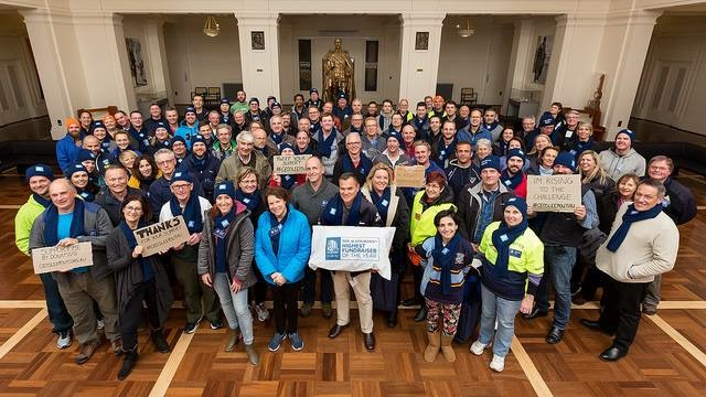 The SleepOut Crowd. Photo: Supplied