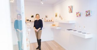 Discover art in small places at the Gallery of small things