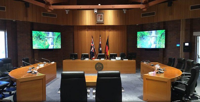 Eurobodalla Shire Council Chambers at Moruya. Photo: integrateav.com.au