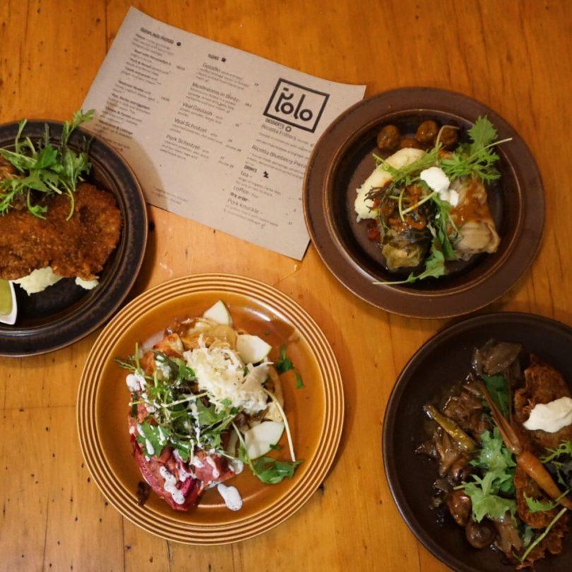 Our delicious selection. Photo: Sophia Brady.
