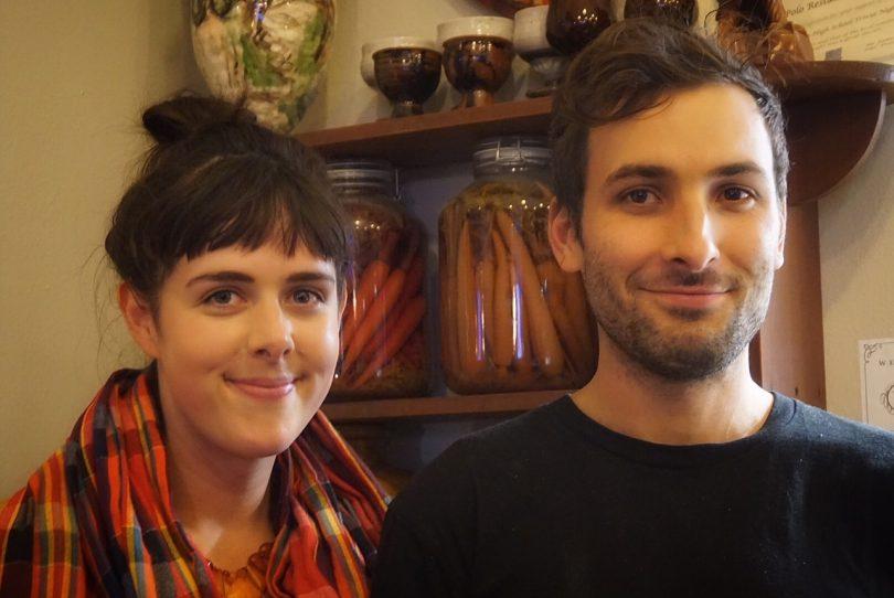 Adam and Fiona Veikkanen. Photo: Sophia Brady
