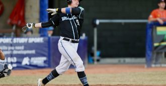 Why Canberra  8217 s baseball star Mitch Edwards wants to end alcohol advertising in sport