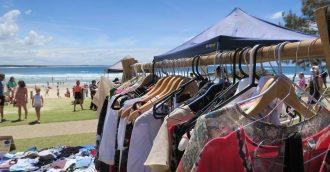 Swap rubbish for pre-loved clothes at Batemans Bay Seaside Scavenge, July 7