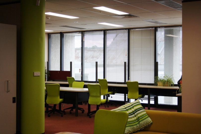 In its startup phase, Community Plus volunteers renovated the building, to design a vibrant co-working and meeting space. Photo: Image supplied