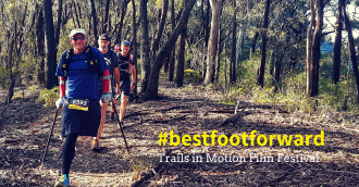 Trails in Motion Film Festival  Canberra doco charts Milton  8217 s first ultra-marathon bid