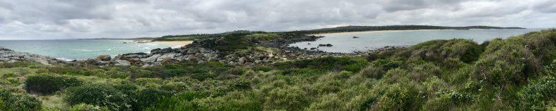 Bingie Point panorama. Photo: Alex Rea