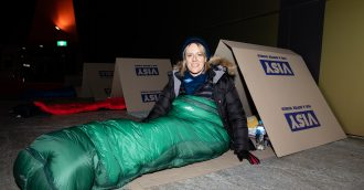 Canberra   s CEO Sleepout  Record funds and a reality check on the plight of the homeless