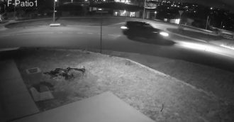 Police reveal footage of vehicle seen in the area of suspicious fire in Moncrieff