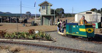 New miniature railway in Symonston