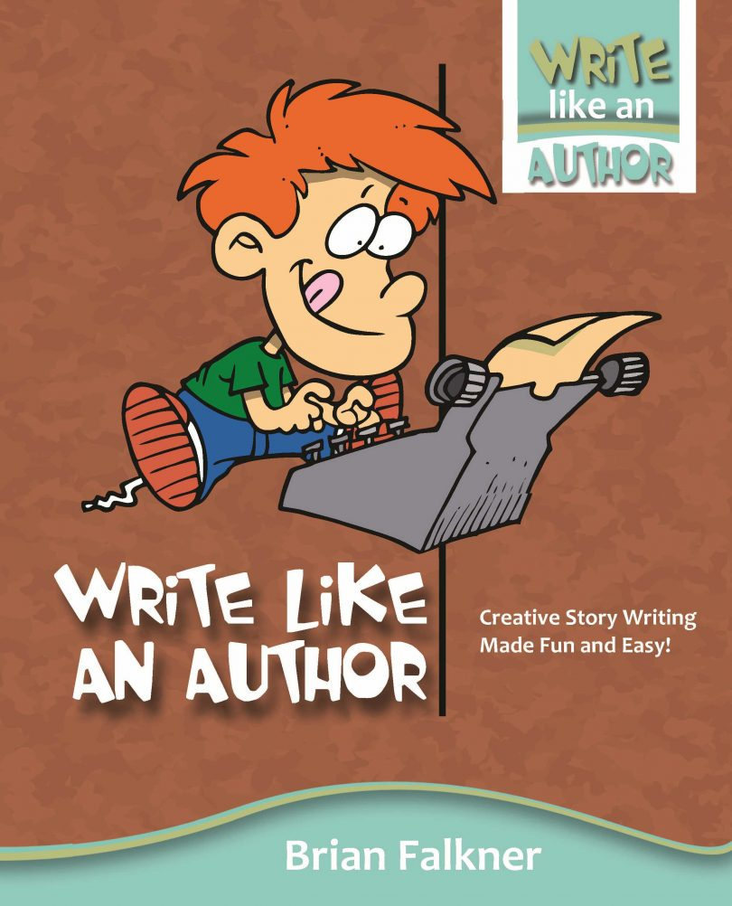 Write Like An Author Workbook. Image supplied.