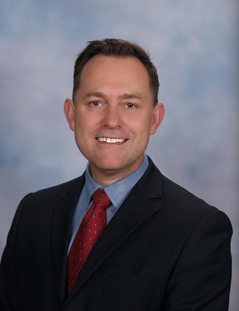 Principal Brad Gaynor. Photo: Supplied.