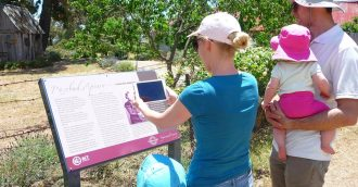 Enhanced Canberra Tracks app brings ACT's iconic sites to life