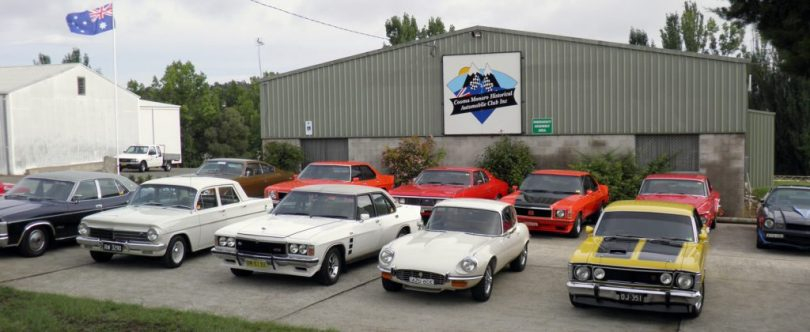 Cooma Car Club, Bolaro Street, Cooma. Photo: Cooma Car Club.