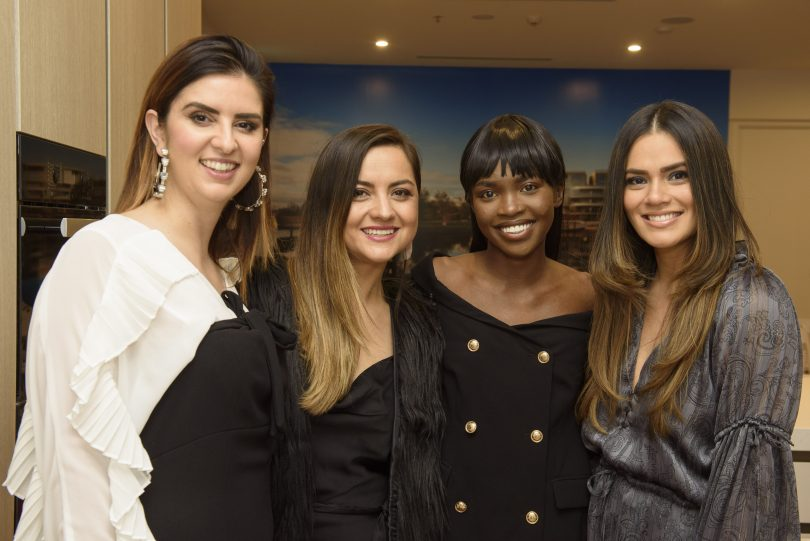 Daniella Jukic, Sofia Polak, Sarafina Manyang, Janette Wojtaszak from the Fashion Vault
