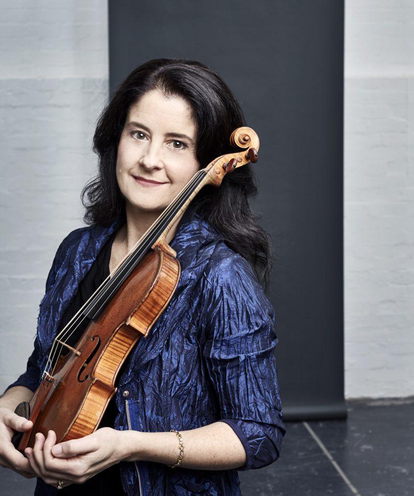 Violinist Dimity Hall.