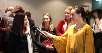 Defence and security mentoring event proves a hit with women