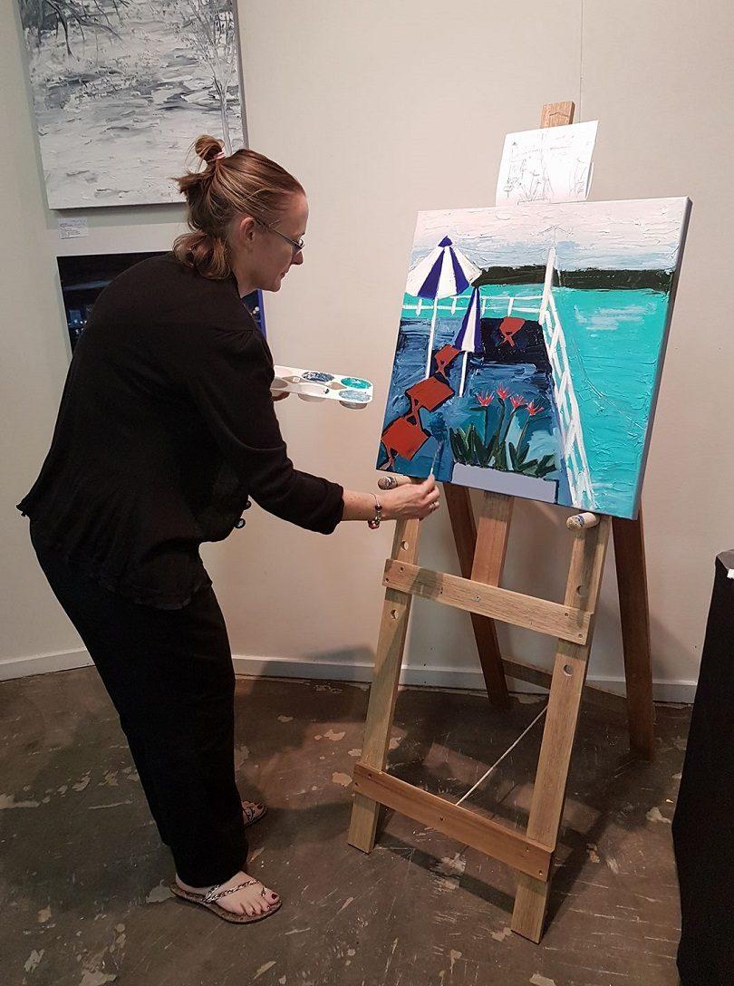 Jennifer Baird - work in progress.