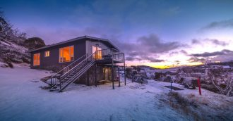 New ski lodge near Perisher offers views, vacancies and room for six