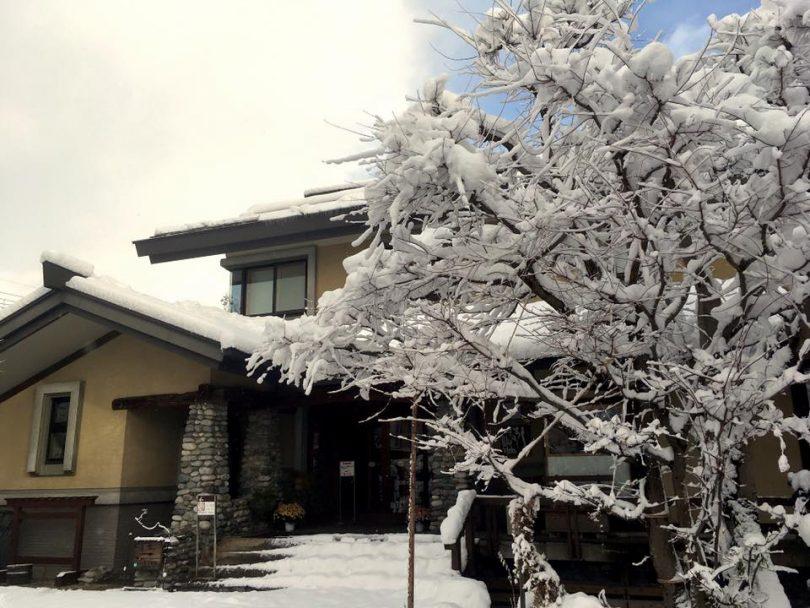 Shirouma-so, a traditional Japanese ryokan (hotel) run by Toshi-sun. Photo: Shirouma-so Facebook.