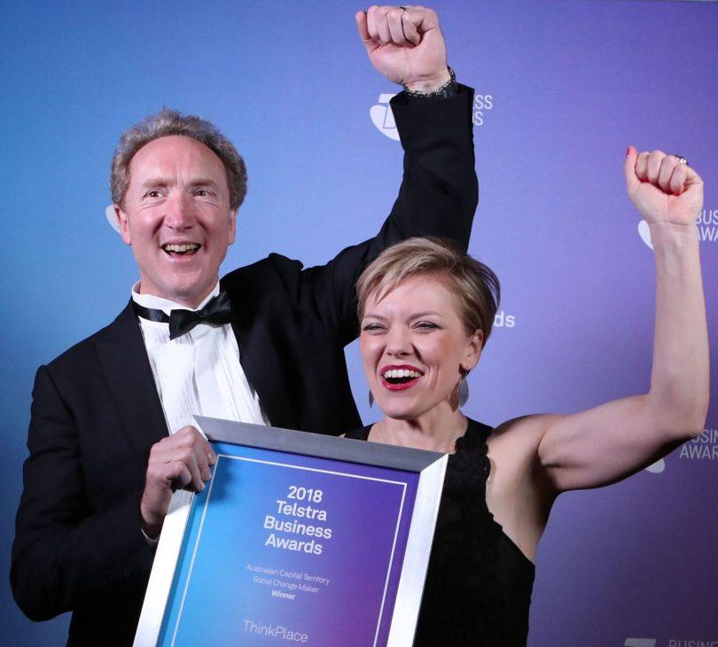 ThinkPlace Partners John Body and Nina Terry.