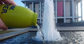 Library   s water bottle policy needs a little more transparency