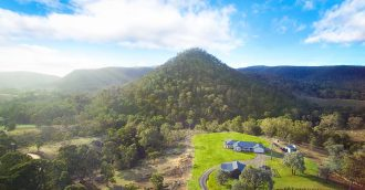 Southern Highlands homestead for sale among green pastures  woodlands and waterways