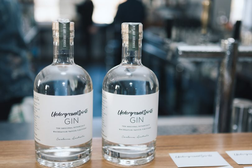 The award-winning gin. Photo: Daniella Jukic.