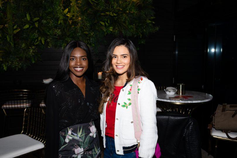 Sarafina Manyang and Janette Wojtaszak