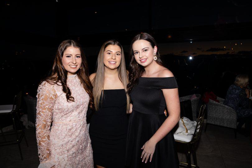 Molly Usher Clarke, Lee Usher-Clarke and Olivia Meenie.