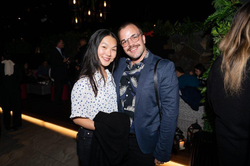 Michelle Ho and Nathan Harradine-hale.