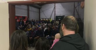 """""""Weeks not days"""" – Community hears of plan to tackle Bega Valley fire"""