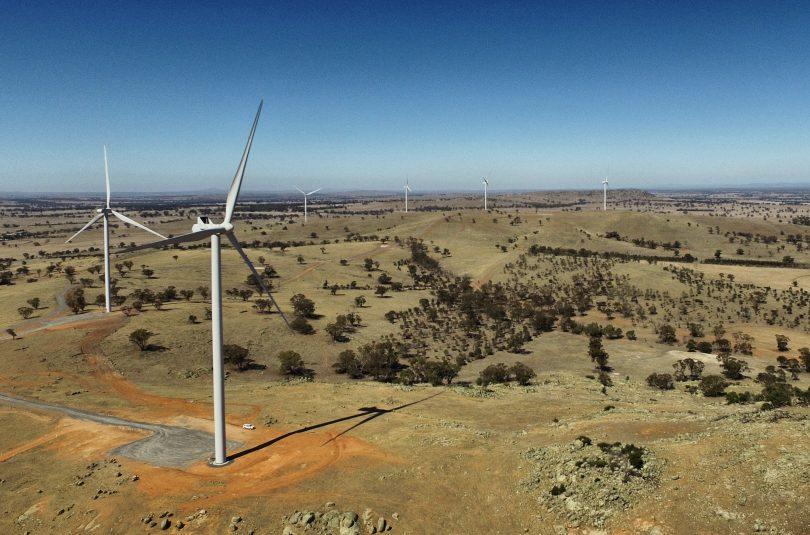 The Coonooer Bridge wind farm