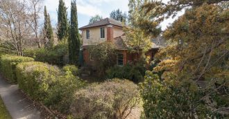 Leafy, six-bedroom O'Connor home a rare opportunity in heart of bush capital