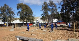 Nature-based play park comes to life at Giralang