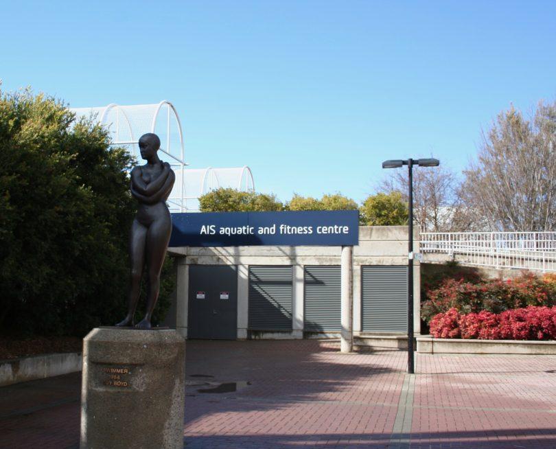 AIS Aquatic Centre. Photo: Jennifer Andrew.