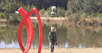 The Bay buoyed by Sculpture Prize
