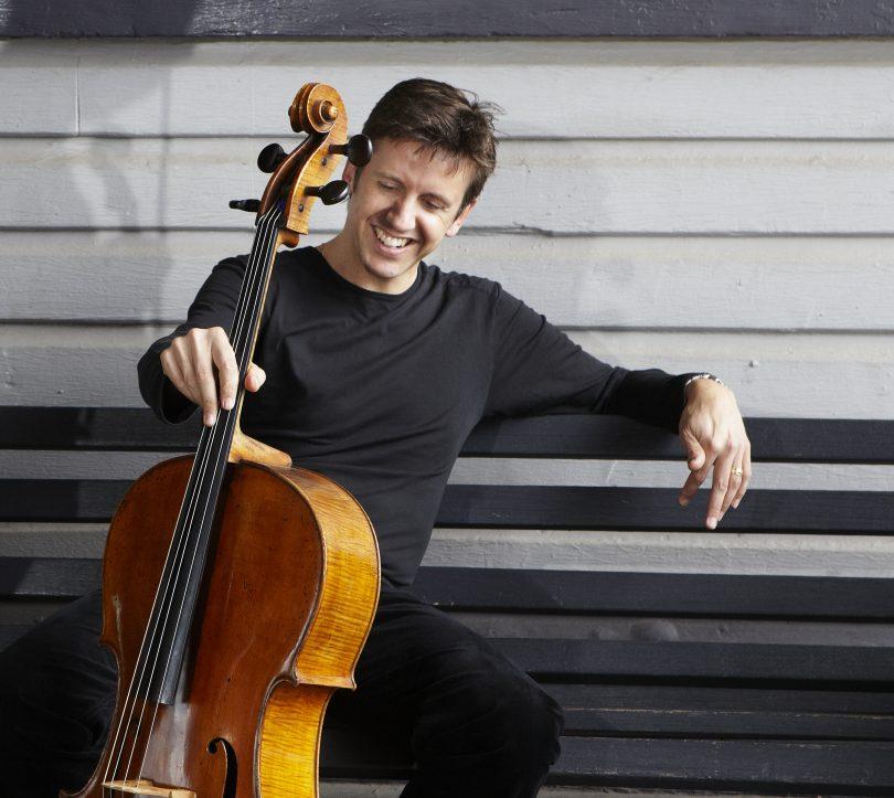 Cellist Julian Smiles