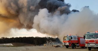 Fires from Surf Beach to Bemboka put smoke and tension in the air
