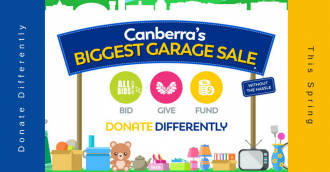 Canberra's biggest garage sale returns in time for spring cleaning