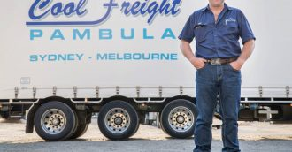 Award-winning South Coast truckie rolls out safety program for young drivers