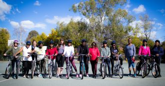 Girls on Bikes  Mobility  community and leadership