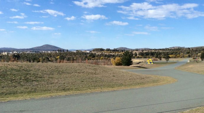 The greater danger faced by cyclists in Canberra