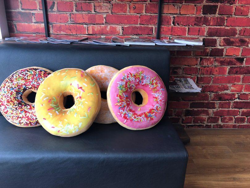 Yummy sweet cushions at Baked. Image: Wendy Johnson