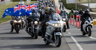 Wall to wall bikes as police honour their fallen with annual Memorial Ride