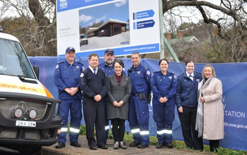Construction of $3.7m ambulance station in Yass underway