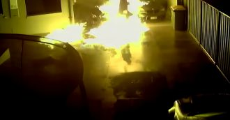 ACT Policing release CCTV footage of bikie attack on Calwell home in June
