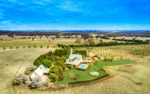 Enchanting Southern Highlands farm with three residences and olive grove on 100 acres